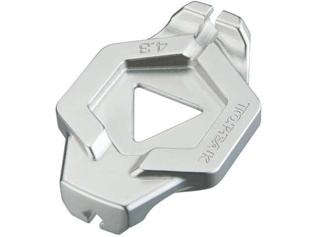 Topeak DuoSpoke Wrench Cykelværktøj 13G/4,3 mm grå (2019)   tools_component